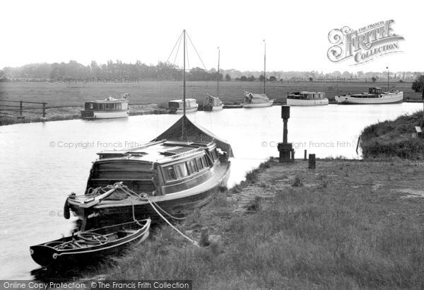 Acle, View From The Bridge c.1950