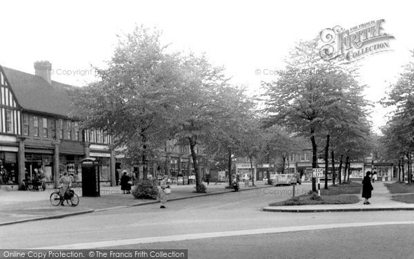 Photo of Acocks Green, Olton Boulevard East c1955