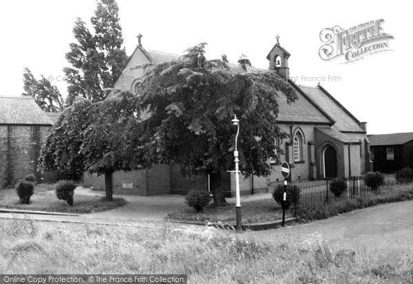 Acrefair, St Paul's Church c.1955