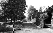 Adderbury, Court End c.1955