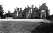 Adderley, Adderley Hall 1898