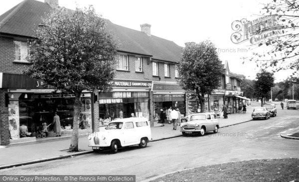 Addington, Crossways Parade 1959