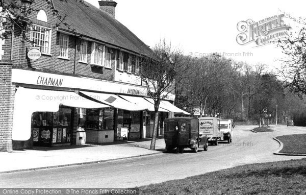 Addington, Crossways Parade c.1950