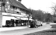 Addington, Crossways Parade c.1950