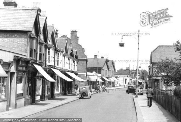Photo of Addlestone, c1950