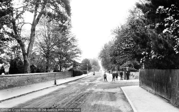 Addlestone, Church Road 1906