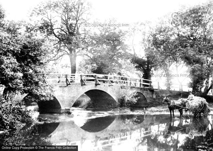 Addlestone, Crockford Bridge 1904