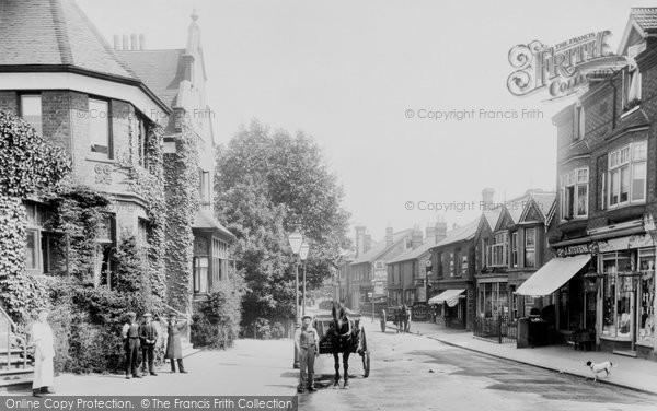 Addlestone, Station Road 1904
