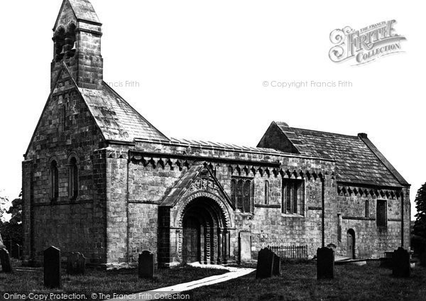 Adel, The Church Of St John The Baptist c.1871