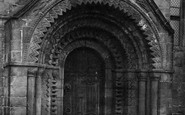 Adel, the Church of St John the Baptist, South Porch 1888