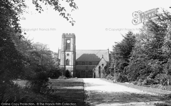 Adlington, St Paul's Church c.1955