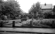 Adlington, The Memorial c.1955