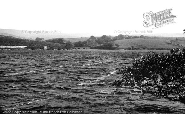 Adlington, The Reservoir And Allance Bridge c.1955