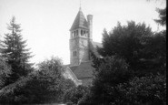 Adscombe, Quantock Lodge, Clock Tower 1895