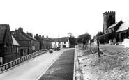 Ainderby Steeple, Main Road c.1955