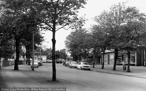 Ainsdale, Station Road c.1965