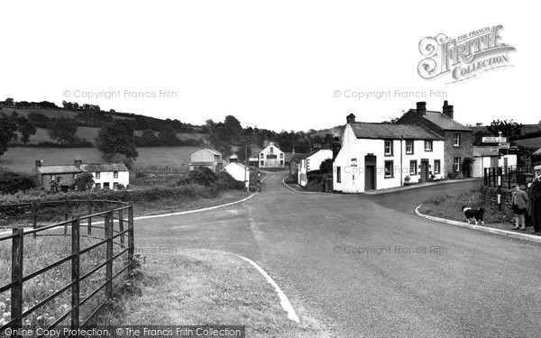 Photo of Ainstable, the Road Ends c1949