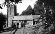 Aisholt, The Church c.1960