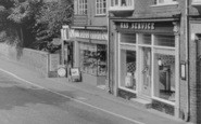 Albrighton, High Street Shops c.1955