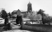 Albury, St Peter And St Paul's Church c.1960
