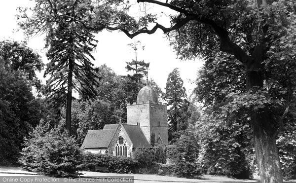 Albury, The Saxon Church 1890