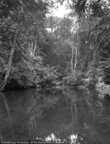 Albury, The Silent Pool 1928