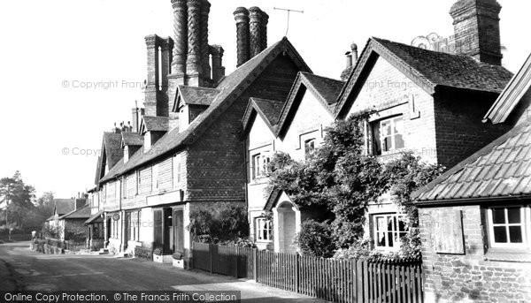 Albury, The Village c.1955