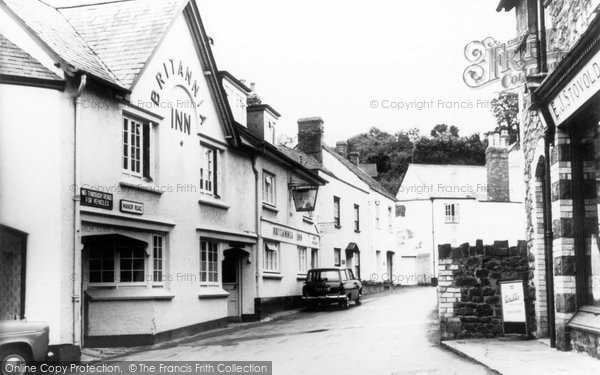 Photo of Alcombe, Brittania Inn c1960