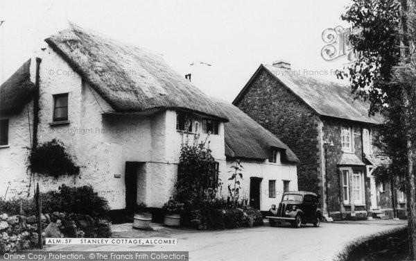 Alcombe, Stanley Cottage c.1960