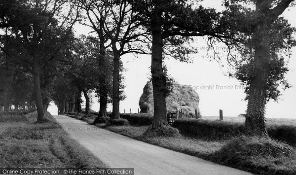 Aldborough, Thwaite Hill c.1955