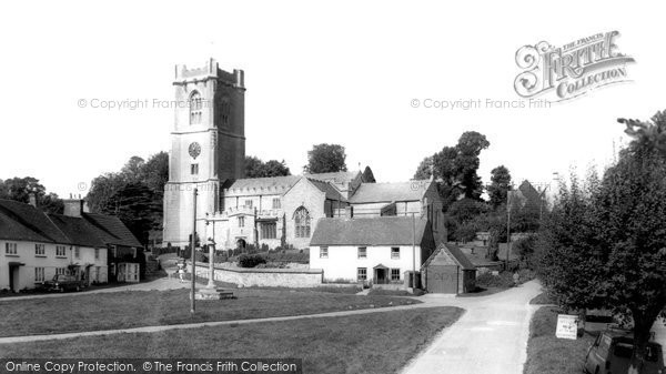 Aldbourne, Parish Church Of St Michael c.1965