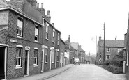 Aldbrough, Cross Street c.1955