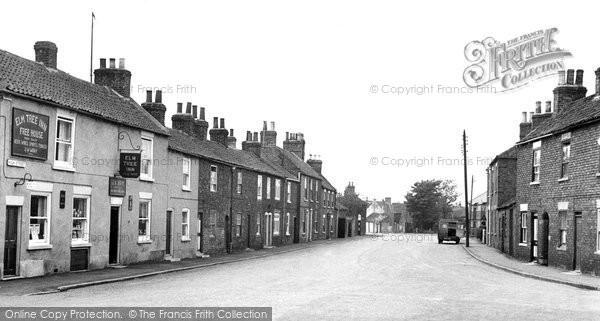 Aldbrough, High Street c.1955