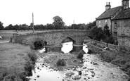 Aldbrough St John, The Bridge c.1955