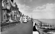 Aldeburgh, Brudenell Hotel From Crag Path c.1960
