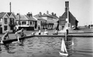 Aldeburgh, Children's Boating Pool And Moot House c.1960