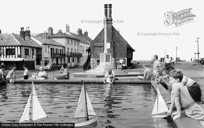Aldeburgh, Childrens Boating Pool c.1955