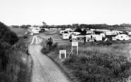 Aldeburgh, Church Farm Caravan Site c.1960