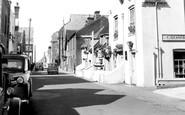 Aldeburgh, Crabbe Street c.1955