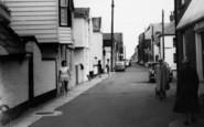 Aldeburgh, Crabbe Street c.1965