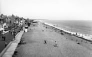Aldeburgh, Crag Path And Beach c.1965