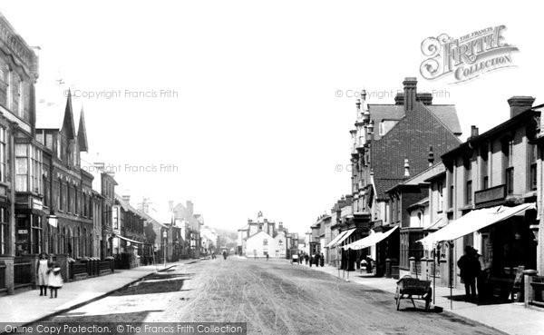 Aldeburgh, High Street 1901