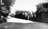 Aldeburgh, Lee Road c.1960