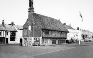 Aldeburgh, Moot Hall c.1965