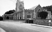 Aldeburgh, Parish Church Of St Peter And St Paul c.1965