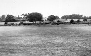 Aldeburgh, Red House From The Golf Course c.1960