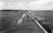 Aldeburgh, Sea Wall And Yacht Club c.1960