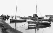 Aldeburgh, Slaughden Quay 1906
