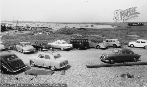 Aldeburgh, Slaughden Quay And River Alde c.1955