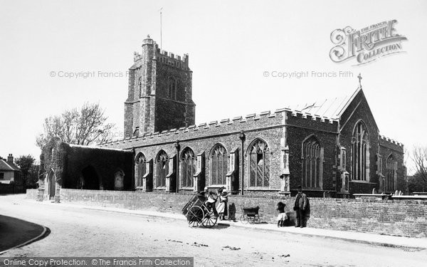 Aldeburgh, St Peter And St Paul's Church 1894